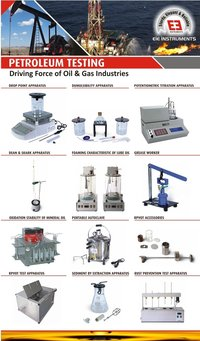 Foaming Characteristics of Lubricating Oil - Astm D892(Four Test Cylinders)-(Twin Jars)