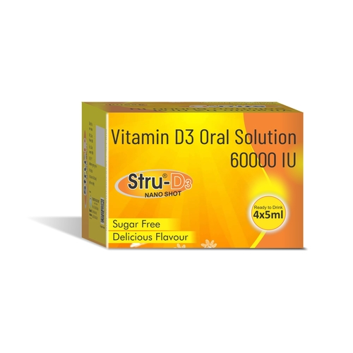 Truworth Stru D NANO SHOT (Vitamin D3 Oral Drops)