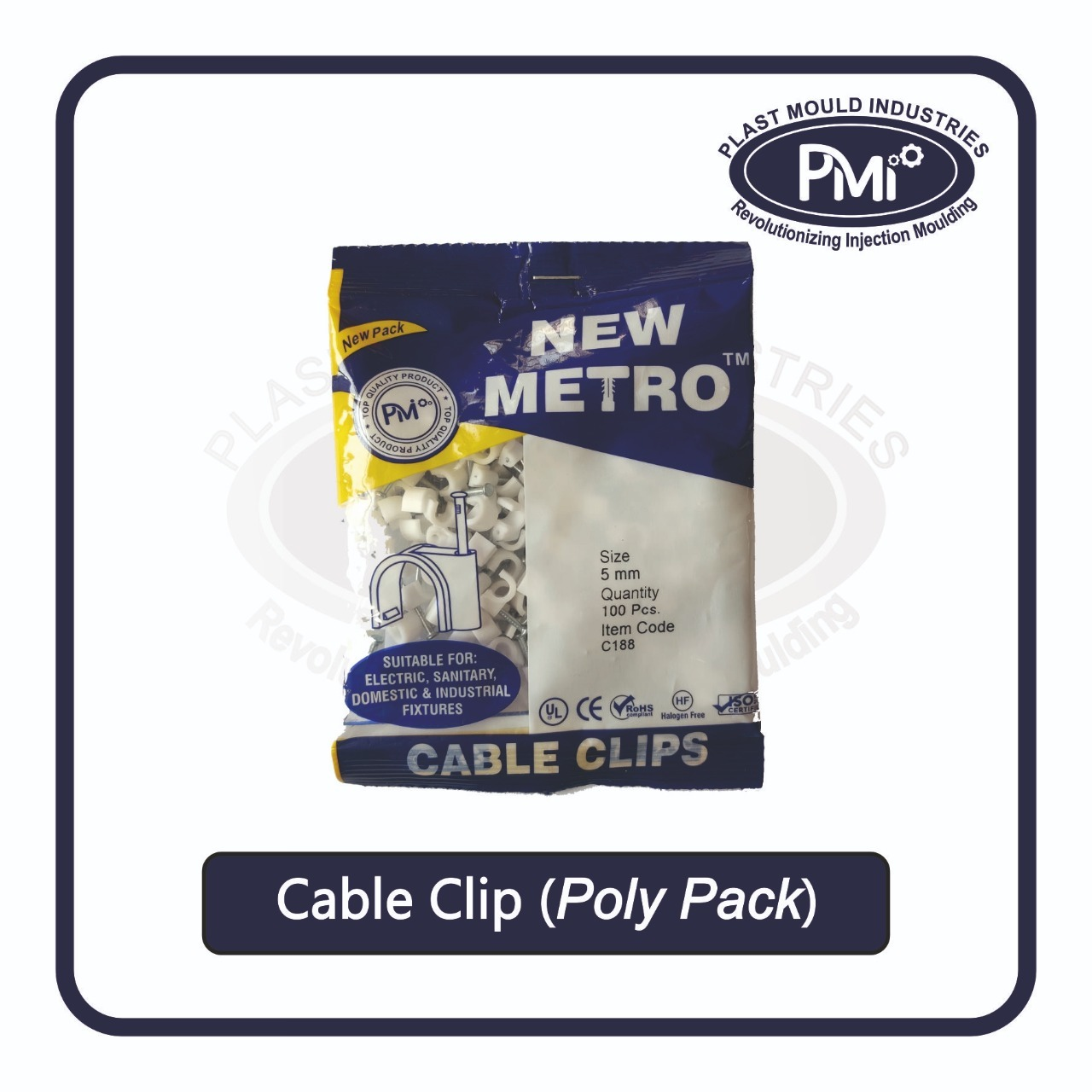 8mm Cable Clip