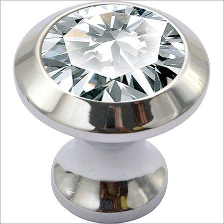 Brass Crystal Knobs