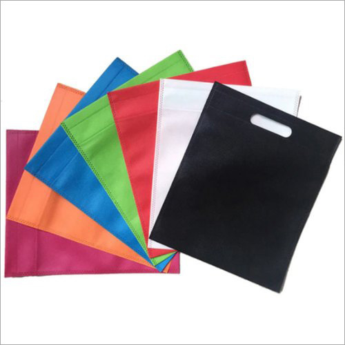 Colored Non Woven D Cut Bag