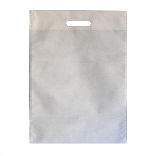 White Non Woven D Cut Bag