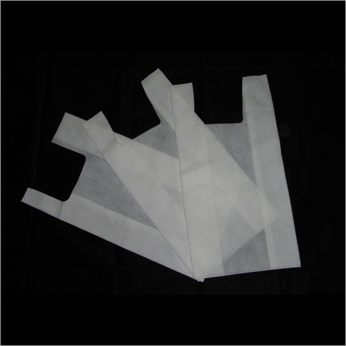 Plain Non Woven U Cut Bag