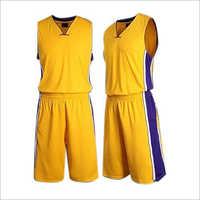 Mens Polyester Basketball Uniform