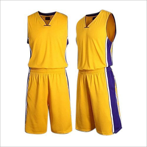 Mens Polyester Basketball Uniform