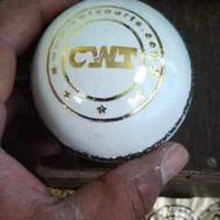 White Leather Ball