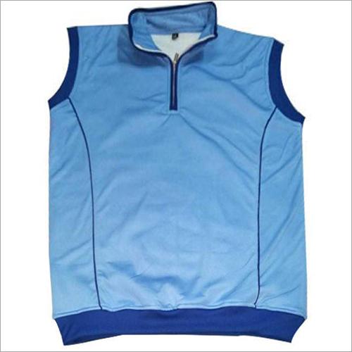 Mens Blue Cricket Sweater