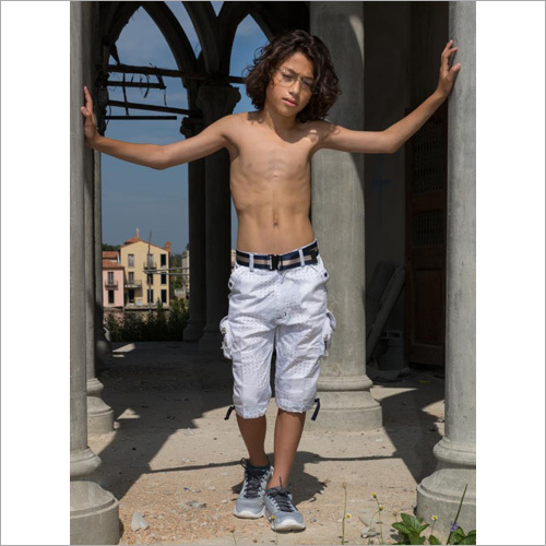 Boys White Capri