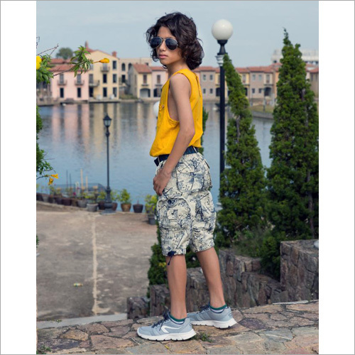 Boys Printed Capri