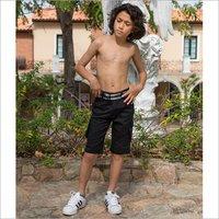 Boys Black Capri
