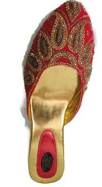Embroidered Ladies Sandals