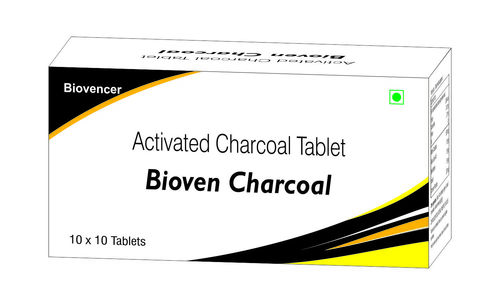 Activated Charcoal Capsules.