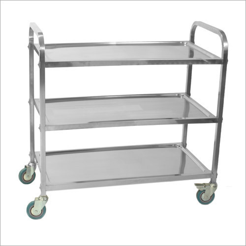304 Stainless Steel Service Trolley