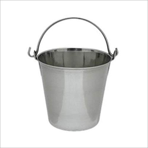 10 Ltr Capacity Stainless Steel Bucket