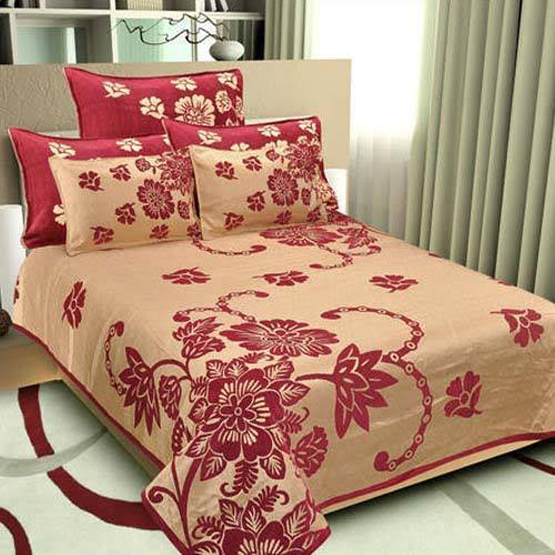 Multicolored Cotton Bedsheet