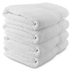 Cotton White Towel