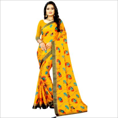 Avaiable In Different Color Ladies Printed Saree