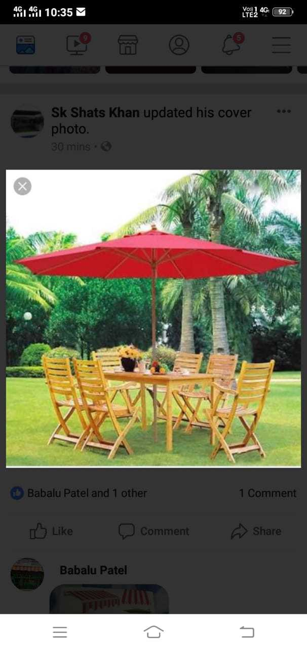 Garden & Restaurant Umbrella