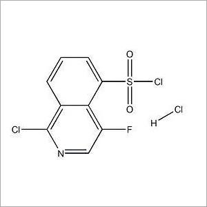 4-Fluoro-5-isoquinolinesulfonyl chloride hydrochloride (1:1)