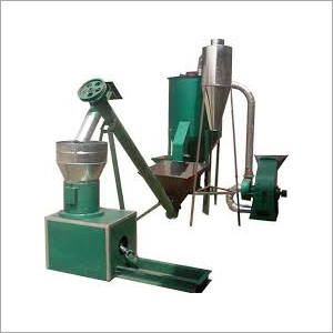 Semi Automatic Cattle Feed Making Machine