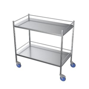 Trolley with upper & lower Shelves
