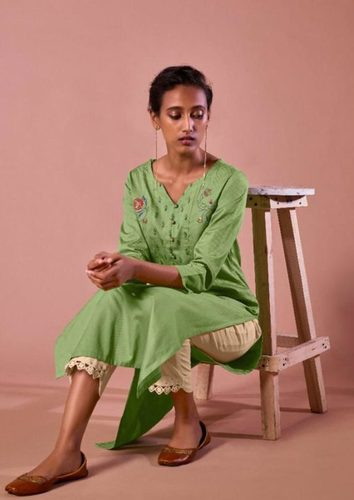 Heavy Pure Cotton Dobby Kurti