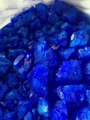 Copper Sulphate big (Lump) Crystal
