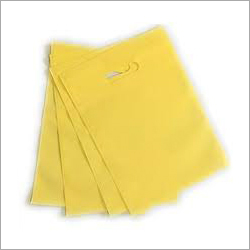 D Cut Yellow Non Woven Bag