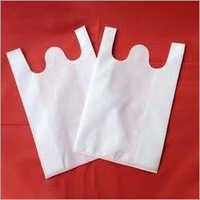 W Cut Plain Non Woven Bag