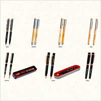 Promotional Metal And Wooden Pen
