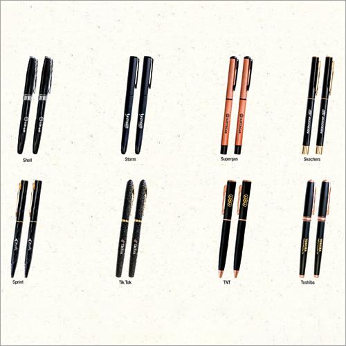 Luxury Metal And Wooden Pen