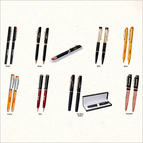 Corporate Promotional Metal And Wooden Pen