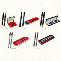 High Gloss Metal And Wooden Pen