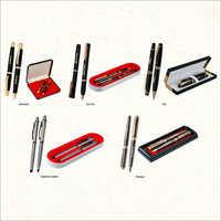 Metal And Wooden Pen