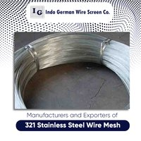 321 Stainless Steel Wire Mesh