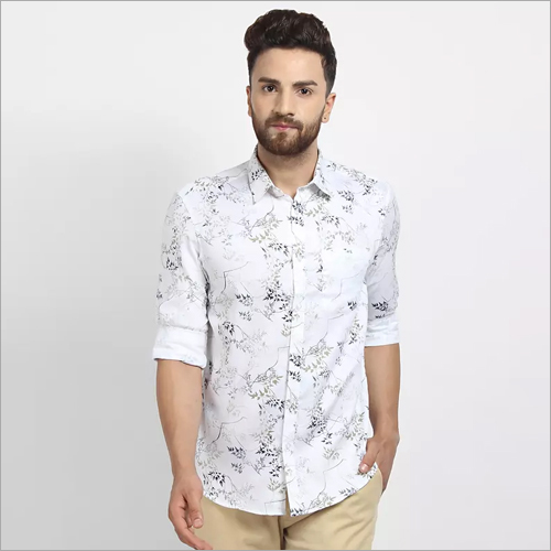Cape Canary Casual Printed Shirt