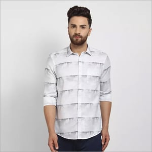 Mens Cape Canary Party Wear Shirt