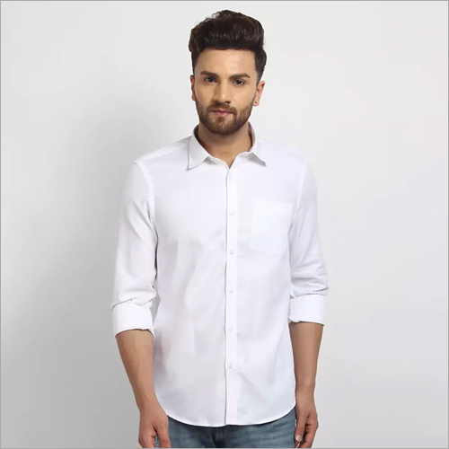 Cape Canary White Formal shirt