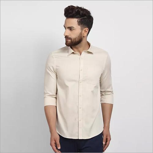 Cape Canary Cream Formal Shirt