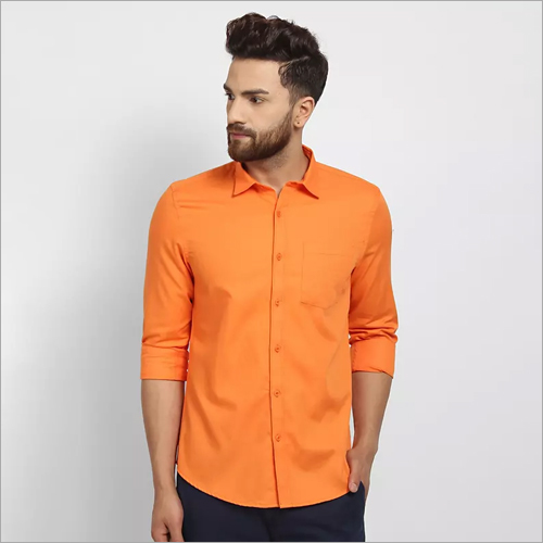 Cape Canary Orange Formal Shirt