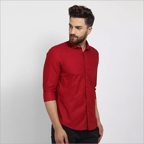 Cape Canary Maroon Formal Shirt