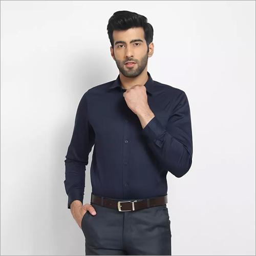 Cape Canary Blue Formal Shirt