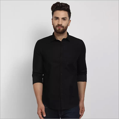 Cape Canary Black Formal Shirt