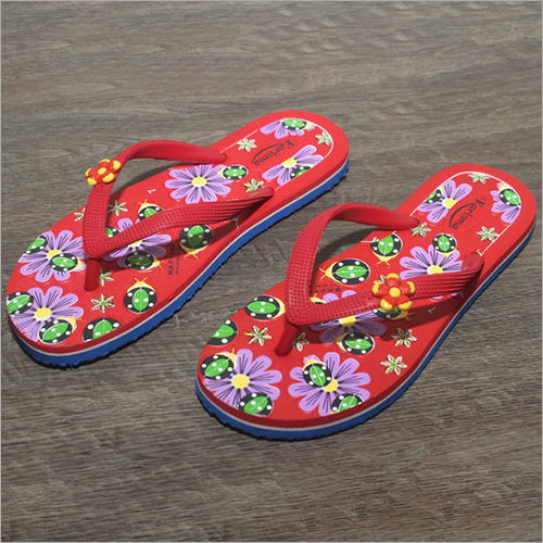 Ladies Casual Wear Rubber Slippers