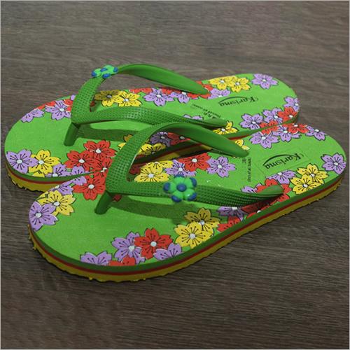 Ladies Fancy Rubber Slippers