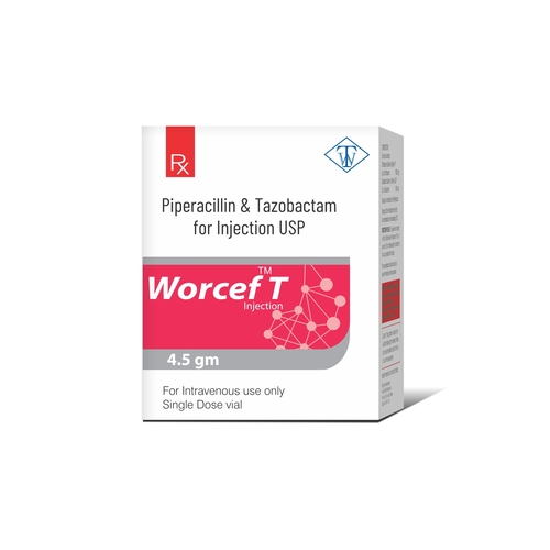 Truworth Worcef T (Piperacillin & Tazobactam Injection )