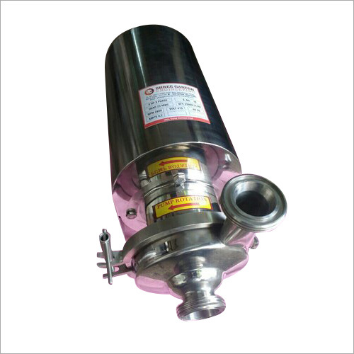 3 HP Stainless Steel Milk Pump