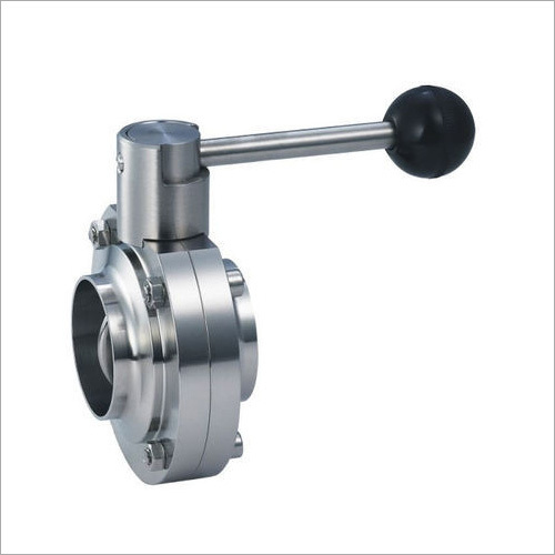 Stainless Steel 304 Dairy Butterfly Valve