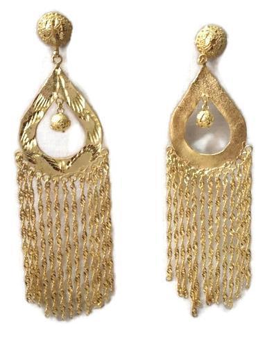 Imitation Kundan Earring