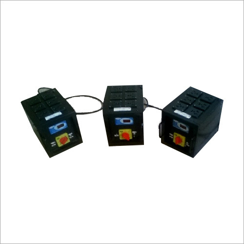 Single Phase Manual DJ Voltage Transformer
